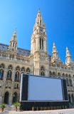 Town hall. Vienna. Austria Stock Photography