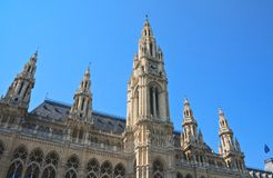 Town hall. Vienna. Austria Royalty Free Stock Photo