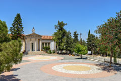 Town Hall in village on Cyprus Stock Photos