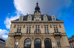 The town hall of Vincennes city, near Paris, France