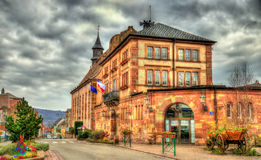 Town hall of Wasselonne - Bas-Rhin, France Stock Photography