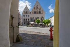 Town hall of Wasserburg am Inn, Germany Royalty Free Stock Photos