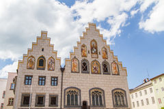Town hall of Wasserburg am Inn, Germany Royalty Free Stock Images