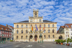 Town hall of Weimar in Thuringia, Germany, UNESCO Royalty Free Stock Photography