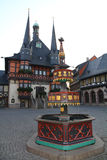 Town hall of Wernigerode Royalty Free Stock Photos