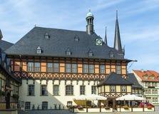 Town hall Wernigerode, Germanl Stock Photos