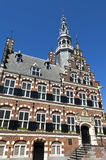 Town Hall, a world heritage site in city Franeker Royalty Free Stock Image