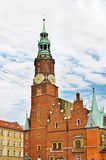 Town Hall in Wroclaw Stock Photos