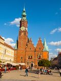 Town Hall in Wroclaw Stock Images