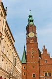 Town hall in Wroclaw, Poland Stock Photo