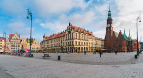 Town hall of Wroclaw, Poland Royalty Free Stock Photography