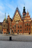 Town hall of Wroclaw, Poland Stock Photos