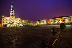 Town Hall in Zamosc Royalty Free Stock Images