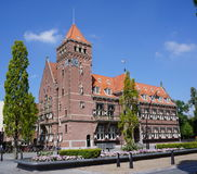 Town hall of Zeist in the Netherlands. The historic building of Zeist city hall in the Netherlands royalty free stock images
