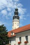 Town Hall, Zielona G?ra. Town hall in Poland, Zielona Gora Royalty Free Stock Image