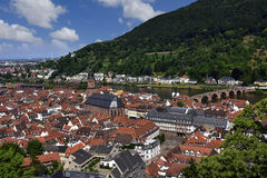Town of Heidelberg Germany Royalty Free Stock Photos
