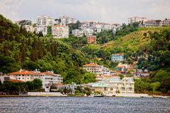 Town on Hills Royalty Free Stock Photos