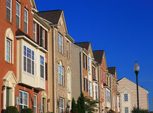 Town home Stock Image