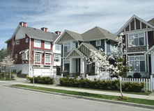 Town Homes Stock Photos
