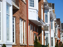Town homes Royalty Free Stock Images