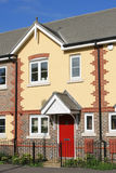 Town House. Newly-constructed town house with tiled roof Royalty Free Stock Photo