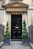 Town House Front Door. Front Door of a Luxury Town House in the Georgian Era Architectural Style Stock Images
