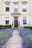 Town House and Garden Stock Photography