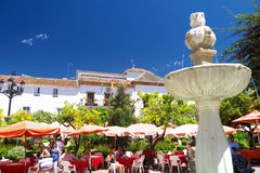 Town house Marbella Royalty Free Stock Photos