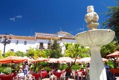 Town house Marbella Royalty Free Stock Photos