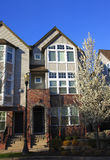Town houses. New construction of town houses in Lake Oswego Oregon Royalty Free Stock Images