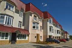 Town-houses στοκ εικόνα