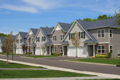 Town Houses Stock Photos