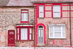 Town houses Royalty Free Stock Photo