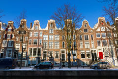 Town houses Amsterdam Royalty Free Stock Image