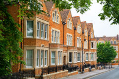 Town houses. Oxford, England Royalty Free Stock Photos