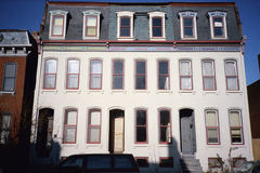 Town houses in St. Louis, MO Royalty Free Stock Images