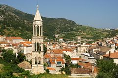 The town of Hvar Royalty Free Stock Photography