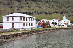 Town in Iceland Royalty Free Stock Photo