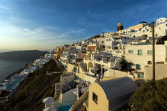 Town of Imerovigli, Santorini, Thira,  Cyclades Islands Stock Image