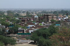 A Town in India Stock Images