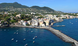Town Ischia, Italy royalty free stock photography