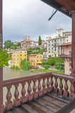 Town in Italy - Bassano del Grappa Royalty Free Stock Photography
