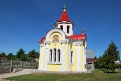 The Town Itself. The Chapel Of St. George. The city of Myshkin on the Volga river. Christian chapel of St. George royalty free stock photo