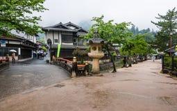 Town of Itsukushima floating Torii Gate in Miyajima Stock Photography