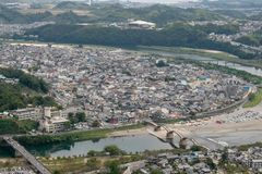 The Town Of Iwakuni stock photos