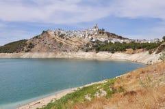 Town of Iznajar, Cordoba (Spain) Royalty Free Stock Images