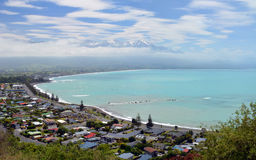 The Town of Kaikoura, South Island New Zealand. Royalty Free Stock Images