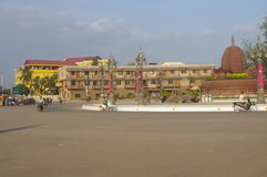 Town of Kampot in Cambodia Royalty Free Stock Photography