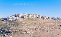 Town Kerak on stone hill, Jordan - 5 Royalty Free Stock Photography