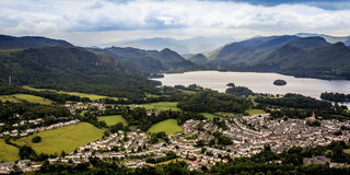 Town of Keswick Royalty Free Stock Photo